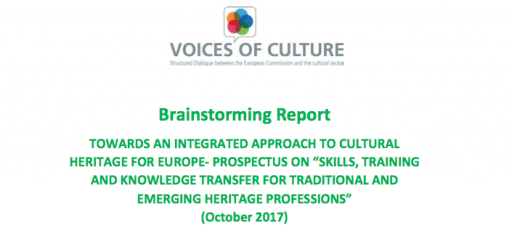 JG Skills,Training and Knowledge Transfer: traditional and emerging heritage